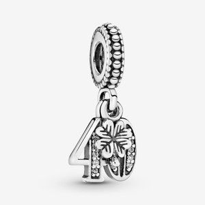 🌸Pandora 40th Celebration Dangle Charm